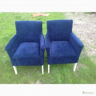 Продам очень крутые кресла бу синего цвета для кафе ресторанов