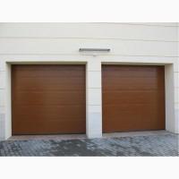 Ворота секционные гаражные Hormann