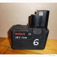 6 Аккумулятор Bosch 12V 1, 4Ah (2 607 335 055)