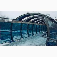 Монолитный и сотовый UV защищенный поликарбонат от 2 до 12мм