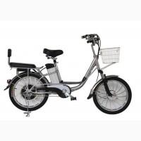Электровелосипед Вольта Нова серебро