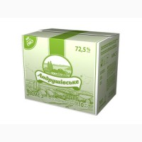 Спред сладкосливочный Андрушевское 72, 5% брикет 10/20 кг