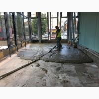 Теплоізоляція підлог і покрівель пінобетоном. Монолінті роботи