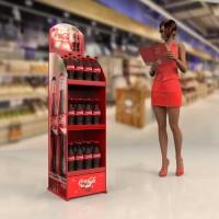 Торговая стойка Кока Кола. От производителя торгового оборудования Bendvis