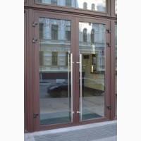 Изготовление и монтаж алюминиевых дверей в кафе, офис, магазин или частный дом