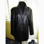 Оригинальная стильная женская кожаная куртка. Лот 182