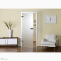 Виды стеклянных дверей в комнату