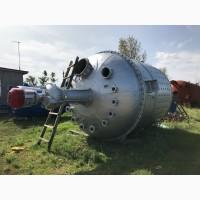 Реактор из нержавейки 25м3. Реактор из нержавеющей стали 8м3. 10М3. 16М3. 20М3. Наличие