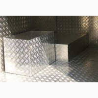 Лист алюминиевый рифленый 1, 5х1250х2500 1050 Н24