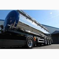Услуги масловоза, перевозка наливных грузов