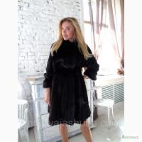 Шикарная канадская норка модель шубы халат недорого