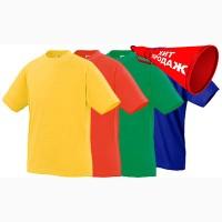 Детская белая футболка недорого в Украине. Футболка детская белая для физкультуры