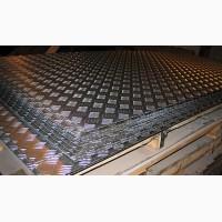 Лист алюминиевый рифленый 2х1250х2500мм 1050 Н24
