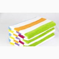 Полотенце велюровое пляжное Terry Lux, 70*150, яркое цветное