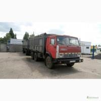 Грузовой автомобиль зерновоз КАМАЗ-5320(1984г.в.) с прицепом ГКБ-8350 б/у