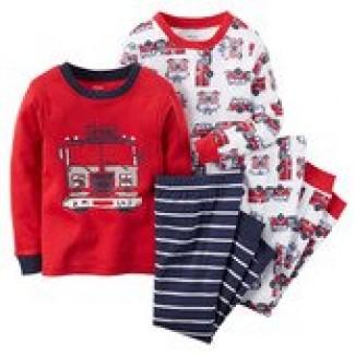 Комплект пижам для мальчика Юный пожарник