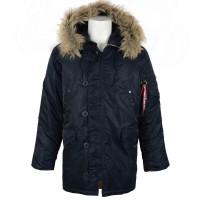 Куртка (аляска) Alpha Industries N3B (новые, 3 цвета)