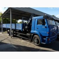 Новый грузовой автомобиль КамАЗ-65117-030-62 с краном-манипулятором HIAB XS 122 B-2 DUO