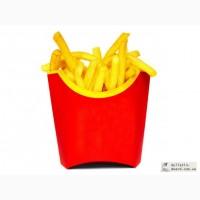 Картонная упаковка для ФАСТ-ФУДА: для картошки фри, для бургеров, для шаурмы, упаковка для