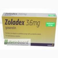 Продам Золадекс 3.6 мг Аstra Zeneca (Великобритания)