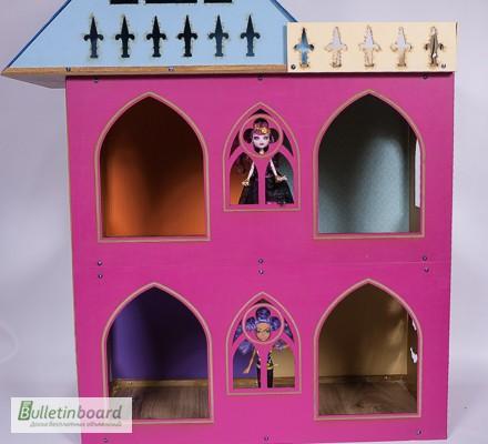 Фото 10. Большой складной кукольный домик в стиле Монстер Хай. Самый лучший подарок для ребенка