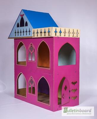 Фото 2. Большой складной кукольный домик в стиле Монстер Хай. Самый лучший подарок для ребенка