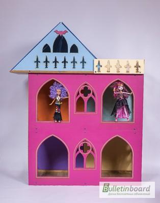 Фото 4. Большой складной кукольный домик в стиле Монстер Хай. Самый лучший подарок для ребенка