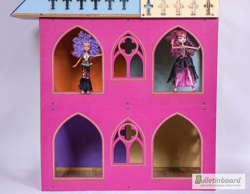 Фото 7. Большой складной кукольный домик в стиле Монстер Хай. Самый лучший подарок для ребенка