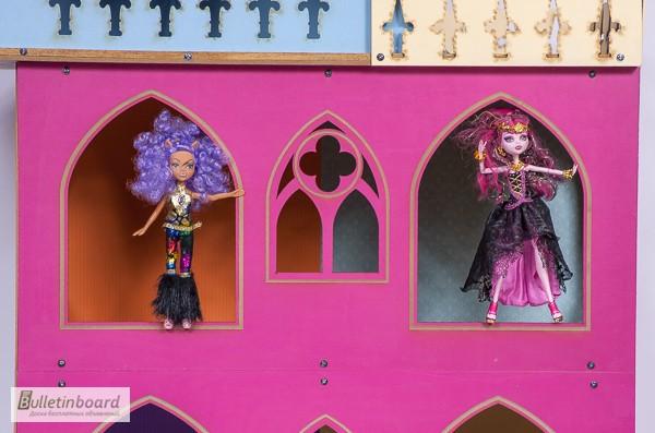 Фото 8. Большой складной кукольный домик в стиле Монстер Хай. Самый лучший подарок для ребенка