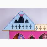 Большой складной кукольный домик в стиле Монстер Хай. Самый лучший подарок для ребенка
