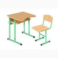 Парта (стол ученический) и стул ученический для учебных заведений