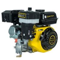 Двигатель комбинированный газ бензин + муфта сцепления со шкивом Кентавр ДВЗ-210Б