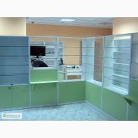 Аптечная мебель на заказ, прилавки, стеллажи, шкафчики.Быстро, качественно, недорого