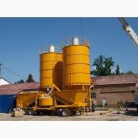 Б/у бетонный завод 25-60 м3 в час