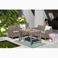 Садовая мебель Chicago Set With Wicker Lyon Table Нидерланды