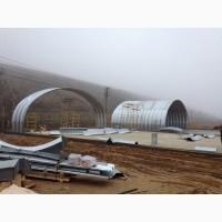 Прямостенные металлоконструкции ангары с вертикальными стенами производство в Днепропетров