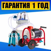 Дольный аппарат Буренка-1 Стандарт. Доїльний апарат + бідон