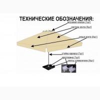 Зонты 4х4 для кафе ( 3х3)