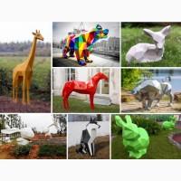 Производство полигональных арт-объектов, скульптур в полигонах