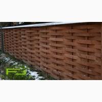 Деревянный забор. Строительство заборов из дерева