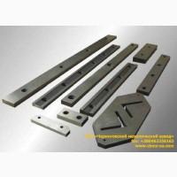 Изготовление ножей для гильотинных ножниц и пресс-ножниц длиной до 1200 мм под заказ