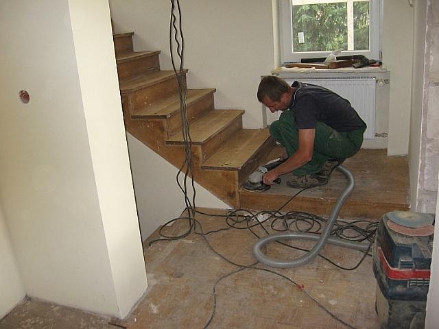 Фото 5. Cтоляр паркетчик - реставратор сходів, паркетa. Робота в Польщі