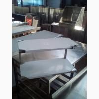 Полка навесная из нержавейки 1000*300 для кухни