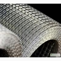 Сетка тканая н/ж 6х1, 2 мм сталь 12Х18Н10Т Гост-3826 ширина 1 м
