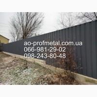 Профнастил 7024 РЕМА МАТ ДВУХСТОРОННИЙ, 7024 РЕМА/7024 РЕМА