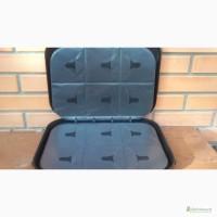 Продам легкий из прочного пластика кейс для хранения и транспортировки CD и DVD-дисков