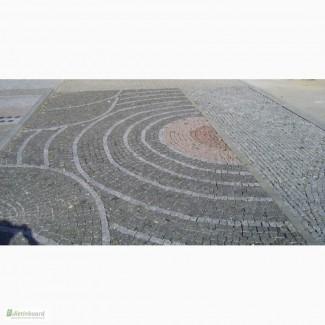 Гранитная брусчатка, гранитная плитка