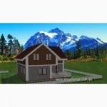 Каркасный дом из сип панелей от застройщика по канадской технологии цена