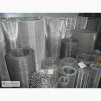 Сетка тканая н/ж 5х0, 7 мм сталь 12Х18Н10Т Гост-3826 ширина 1 м