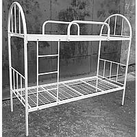 Односпальные кровати металлические, двухъярусные кровати